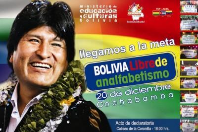 Bolivia Libre De Analfabetismo