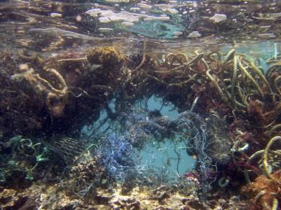 Marine debris, isole di spazzatura